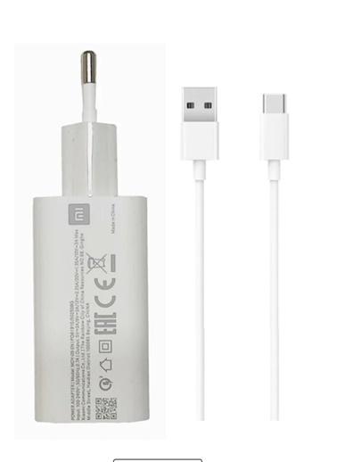 Xiaomi Xiaomi Mi Note 10 30w Typec Hızlı Şarj Aleti Beyaz